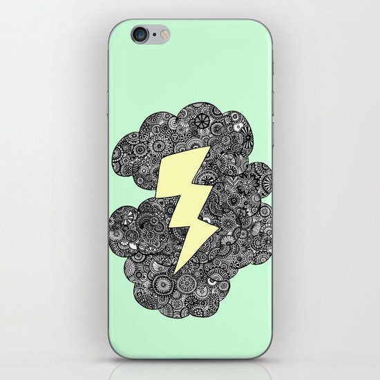 Storm Cloud iPhone & iPod Skin