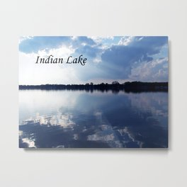 Indian Lake Metal Print