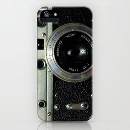 Vintage analog camera iPhone Case