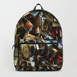 Love Lock Bridge Backpack
