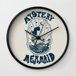 MYSTERY MERMAID Wall Clock