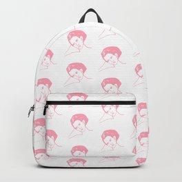 Portrait pattern Backpack