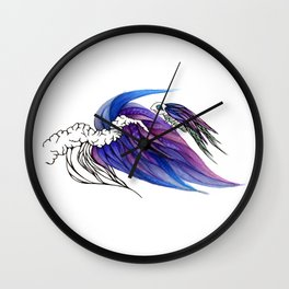For Dear Life (Hold On) Wall Clock