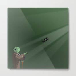 Use the Controller Metal Print