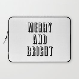 Merry and Bright Laptop Sleeve