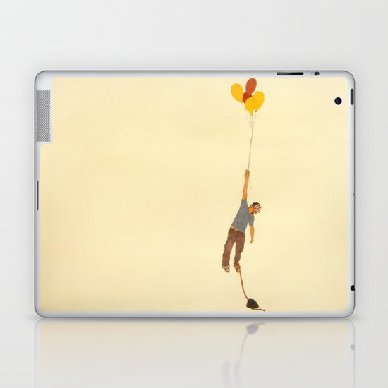 attempt to fly Laptop & iPad Skin