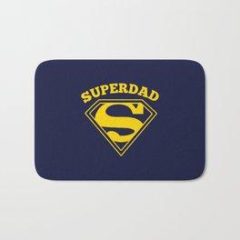 Superdad | Superhero Dad Gift Bath Mat