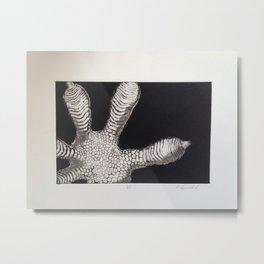Gecko Foot 2 Metal Print
