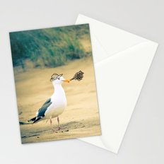 rebel gull. Stationery Cards