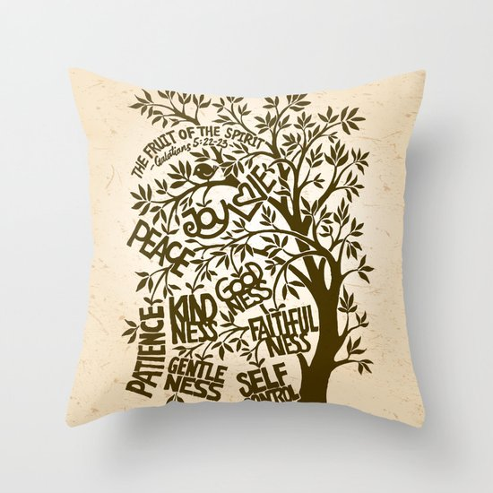 The Fruit of the Spirit (I) Throw Pillow