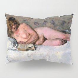 Isaac Lazarus Israels - Lying Naked - Digital Remastered Edition Pillow Sham