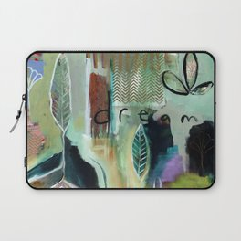 """""""Dream Alive"""" Original Painting by Flora Bowley Laptop Sleeve"""