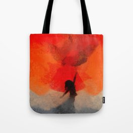 umbrellaliensunshine: atomicherry spring! Tote Bag