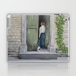 Going In and Out Laptop & iPad Skin