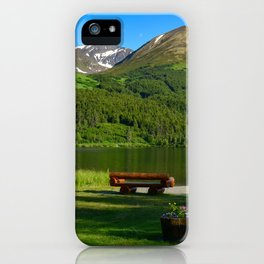 Summit Lake - Kenai Peninsula, Alaska iPhone Case