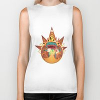 fifth element Biker Tanks featuring Element by Miki  Company