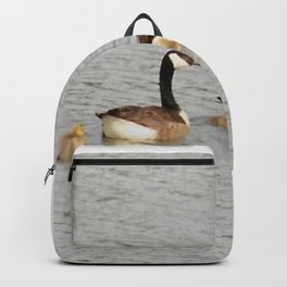 Canadian Geese Family Backpack