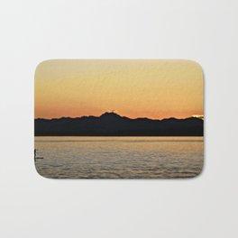 Sunset paddle Bath Mat