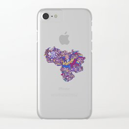 Free Venezuela Clear iPhone Case
