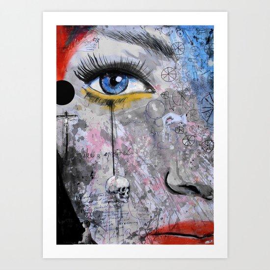 the wheels of dreaming Art Print