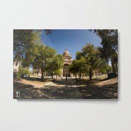 Texas State Capitol Metal Print