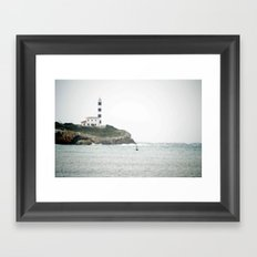 Portocolom Framed Art Print