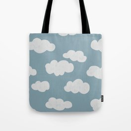 In the sky Tote Bag