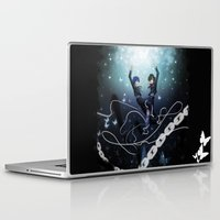 persona Laptop & iPad Skins featuring Persona 3 Protagonists by Creativelea