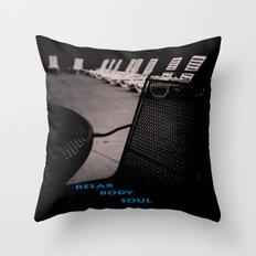 Relax... Throw Pillow