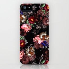 GLASTONBURY FLORAL iPhone Case