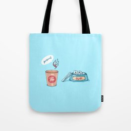 Kamikaze ( Concept Funny illustrations) Tote Bag