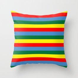 Brighton rock Throw Pillow