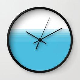 water below water Wall Clock