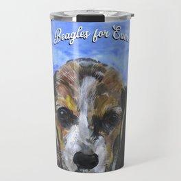 Beagles For Ever Travel Mug