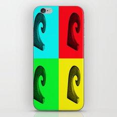 Pop Art Wave iPhone & iPod Skin