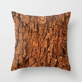 Bark (1) Throw Pillow