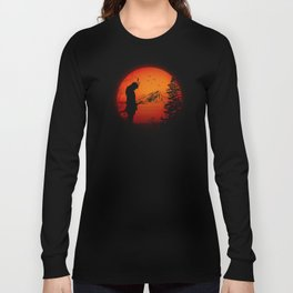 My Love Japan / Samurai warrior Long Sleeve T-shirt