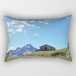 Aosta Valley Alps Rectangular Pillow