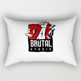 Brutal Studio Logo Rectangular Pillow