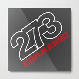 273 Commando V8 - Wedge Metal Print