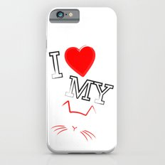 I Love My Cat Slim Case iPhone 6s