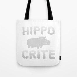 HIPPO CRITE Tote Bag
