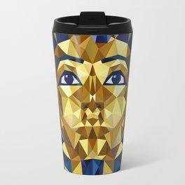 Golden Tutankhamun - Pharaoh's Mask Travel Mug