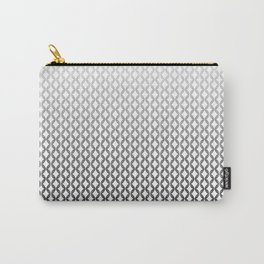 SEAMLESS BLACK AND WHITE Carry-All Pouch