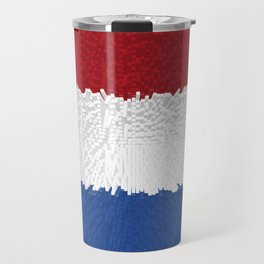 Extruded flag of the Netherlands Travel Mug