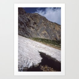 Mount Edith Cavell Slope Art Print