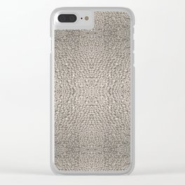 Photo Pattern - Condensation Cube Water Droplets Clear iPhone Case