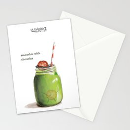 La Cuisine Fusion - Smoothie with Chouriça Stationery Cards