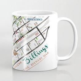 Downtown Billings Brewery Map Coffee Mug
