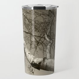 Birch tree #01 Travel Mug